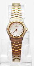 Ebel Sport Classique 18kt Gold / Stainless Steel 12 Diamonds 25mm Ladies Watch