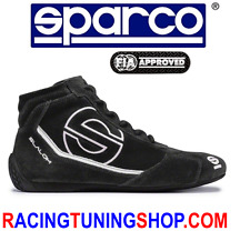 SPARCO SLALOM RB3 BLACK SIZE 43 RACING SHOES SCHUHE RALLY BOOTS FIA 8856 2000