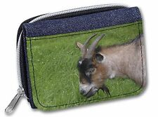 More details for cheeky goat girls/ladies denim purse wallet christmas gift idea, ago-1jw