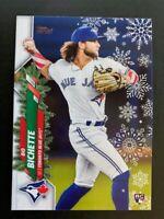 2020 Topps Holiday Baseball SP & Rare Short Print Variations ~You Pick FREE SHIP