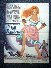 MOLL FLANDERS Amorous Adventures of Original 1960s French Movie Poster Kim Novak
