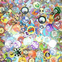 Slammer Unsorted Retro Game Nostalgia Skull Lot of 100 Pogs // Milk Caps