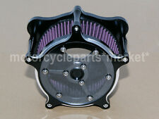 CNC Clarity Air Cleaner Judge Intake Filter System For Harley Touring Softail
