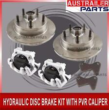 HYDRAULIC DISC BRAKE KIT WITH PVR CALIPER -  FOR TRAILER,CARAVAN AND BOATS