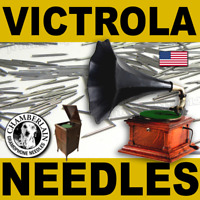 300 LOUD TONE VICTROLA NEEDLES for PHONOGRAPH Gramophone Victor Columbia Sonora