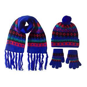 Infants Portholes Hat+Scarf+Gloves Set (050156)
