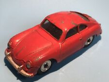 DINKY TOYS VINTAGE MECCANO 182 PORSCHE 356A SPORTS CAR RARE LATE ISSUE MATT BASE