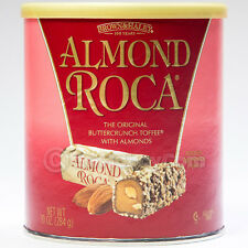 Brown and Haley Almond Roca Buttercrunch Toffee Chocolate Candy 10 oz Can NEW