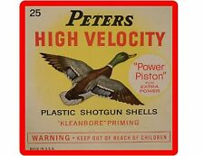 Peters Shot Gun Shell Ammo Refrigerator / Tool Box / Gun Cabinet / Magnet