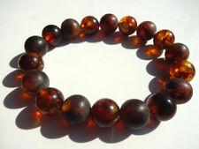 Round Beads Baltic Amber Bracelet  16gr.