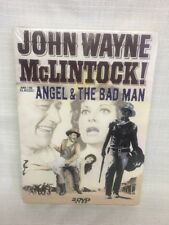 (BP) John Wayne: McLintock!  and the Classic: Angel & The Bad Man (DVD's 2004)
