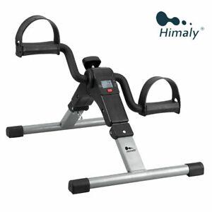 Himaly Faltbar Pedaltrainer Mini Heimtrainer unter Schreibtisch Fahrrad Arm Bein