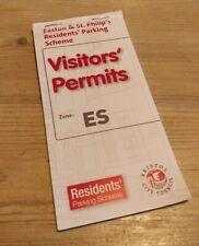 More details for easton & st philip's, bristol, es zone - visitor parking permit (x15)
