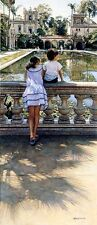 """Steve Hanks, (1949-2015), """"Places I Remember"""", limited edition ', 30""""h x 13""""w"""