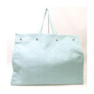 Gucci Tote Bag  Light Blue Canvas 1425213
