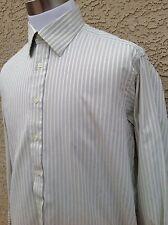 Awesome Ike Behar Men's Green Shirt  L/S  Shirt Size 161/2 - 33  D11