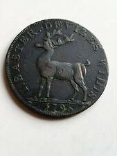 More details for devizes half penny token, 1796