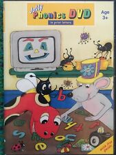 Jolly Phonics DVD - In Print Letters Age 3+ w/Free Guide & Bonus Material *VG*
