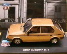 CHRYSLER SIMCA HORIZON GLS 1978 IXO ALTAYA 1/43 BEIGE TALBOT BRONZE OR