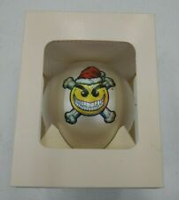 Chaos! Comics Smiley the Psychotic Button Christmas Ornament New Rare
