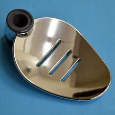 Testa Doccia Ferroviario Soap Dish Cromato Foglia Design forma 18 mm Alzata Ferroviario BAGNO