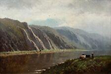 Öl-Gemälde alt antik Romantik, Realismus, Impressionismus, Landschaft 1800-1900