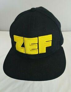 Die Antwoord ZEF Black Snapback Cap Hat