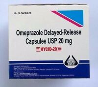 OTC Omeprazole 100ct 20mg capsules  Acid Reflux, Heart Burn treatment