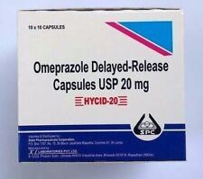 OTC Omeprazole 100ct 20mg capsules  Acid Reflux, Heart Burn treatment