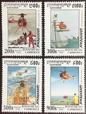 Cambodia 1996 Greenpeace MNH