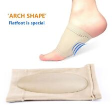 ARCH SUPPORT GEL ORTHOTIC INSOLE PLANTAR FASCIITIS FOOT 2 PCS