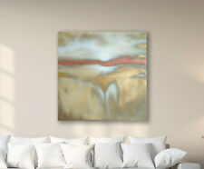 Original Abstract Painting 36x36 Large Canvas Art Gold/White Textured Abstract