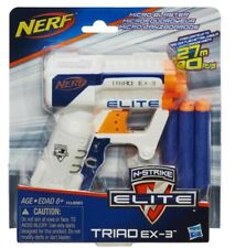 NERF N-Strike Elite Triad EX-3 Blaster - White