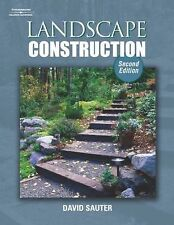 Landscape Construction by David Sauter (2004, Paperback, Second Edition)