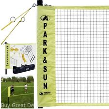Portable Badminton Net Set Indoor/Outdoor With Carrying Bag And Accessories