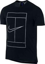 NikeCourt Dry tee - black & blue adult M