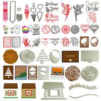 Hot Metal Cutting Dies Stencil Scrapbook Paper Cards Craft Embossing DIY Die-Cut