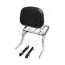 Sissy Bar Passenger Backrest & Luggage Rack for 1997-2007 Suzuki VZ800 Marauder