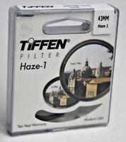 Tiffen Haze-1 43MM Camera Filter 43HZE BRAND NEW