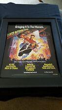 Last Action Hero Soundtrack  Rare Original Promo Poster Ad Framed!
