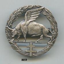 Insigne cavalerie , teaurau ailé  ( non identifié )