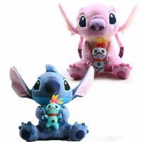 "Cute Lilo and Stitch Girlfriend ""Angel""  Plush Doll Bear Soft Toy kids Xmas Gift"
