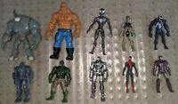 Lot of 10 Marvel Action Figures