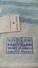Vintage Non Usato earlys di Whitney coperta di lana