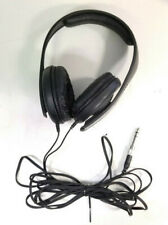 "Sennheiser HD202 Headphones with 1/4"" Adapter - Black - Free Shipping"