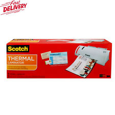 Scotch Thermal Laminator Plus 2 Letter Size Pouches Tl902