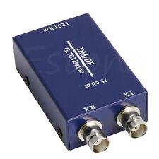 Nice G.703 Balun 75ohm BNC to RJ45 120ohm Ethernet Adapter Efficient and fast