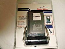 Fun Pix Travel Digital Photo Album 1.5in LCD Multi Function Clock/Alarm