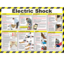Electric Shock Laminated Poster 590mm x 420mm (P309)