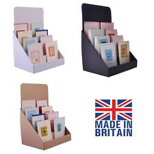 Buy card display stands ebay cardboard counter top display stands for greeting cards dvds cds and leaflets brown 12 inches m4hsunfo